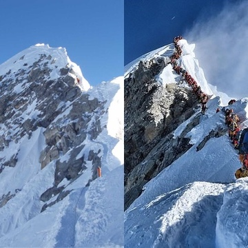 Queues on Everest?  All part of our social media driven obsession for recognition